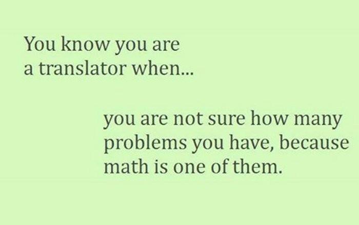 30 признаков того, что вы — переводчик